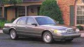 Ford's Crown Victoria is available in a dedicated natural gas variant, and is popular in fleet use.