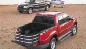 2001 Ford Explorer Sport TracEngine: 4.0 L SOHC V-6Oil capacity: 4.7 LCoolant capacity: 13.25 LFuel Capacity: 78 LTire Size: P235/75R-15,P255/70R-16 (Optional)