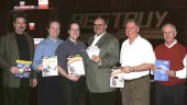 Bestbuy and Federal-Mogul personnel teamed up to draw the winners in the Bestbuy All-Star Promotion.