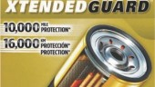 The Fram Xtended Guard oil filter is uses filtration media that is arranged in two plies and reinforced with a metal screen to deliver up to 10,000 miles of engine protection.