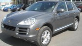 Police suspect but won't confirm that a Porsche Cayenne was involved in a hit and run in Port Dalhousie, Ont., May 24