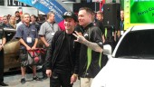 Ryan Friedlinghaus and the team at West Coast Customs unveiled the sweet 16 dream car for Friedlinghaus' son Lil Ryan at the BASF booth today during the 2013 SEMA Show.
