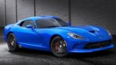 SRT brand enthusiasts submitted more than 11,000 names for the new blue exterior paint colour for the 2014 SRT Viper.
