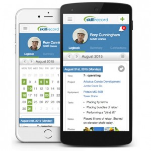 An earlier web-based logbook from SkillRecord has been in use since 2011. A new mobile app, however, extends the logbook's use to phones and other devices.