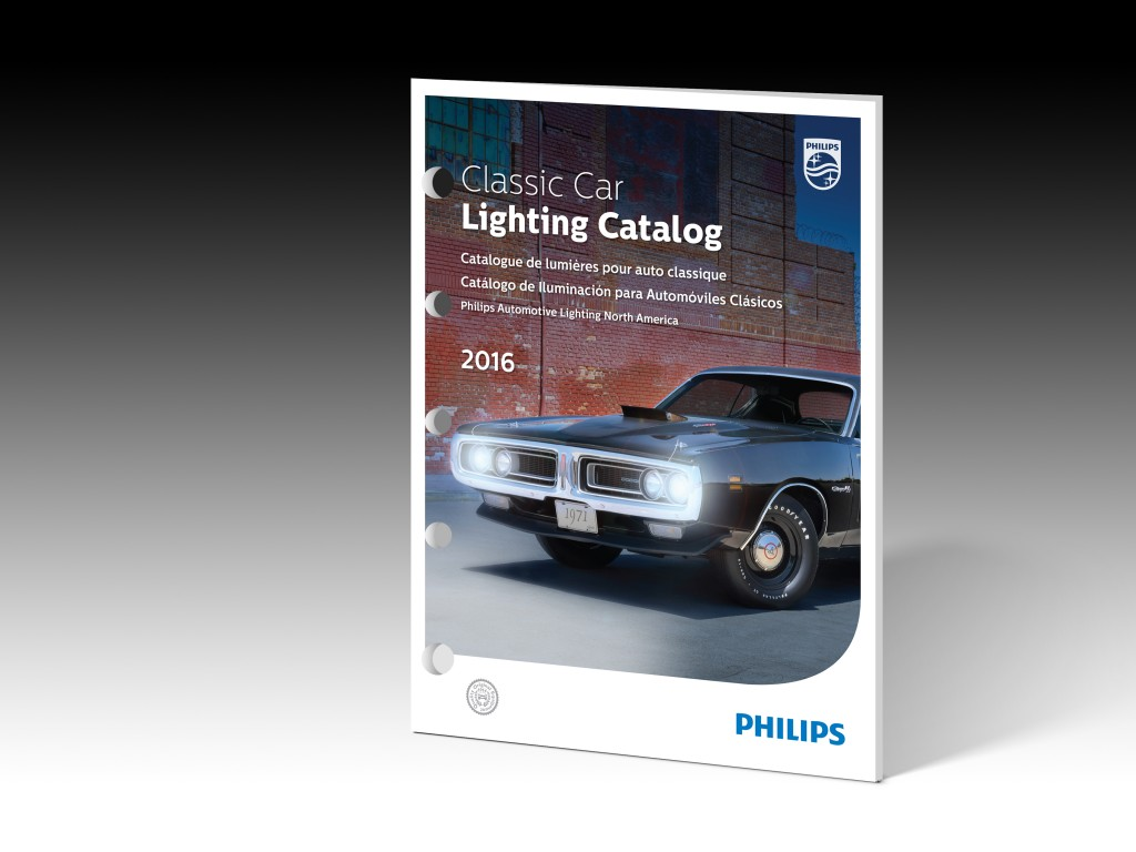 classic car lighting catalog from philips