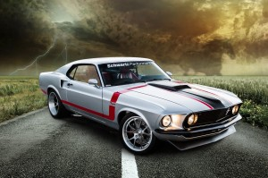 Raybestos 1969 Ford Mustang Fastback Heads To Las Vegas