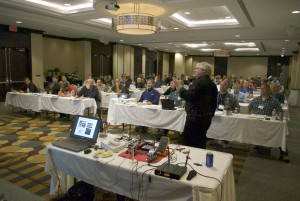 Delphi trainer Dave Hobbs offers his take on Frustrating Ridiculous Electronic Devices (FRED) at Lindertech in Toronto.