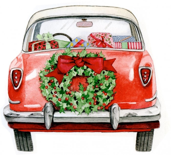 Merry Christmas From All Of Us To All Of You Auto