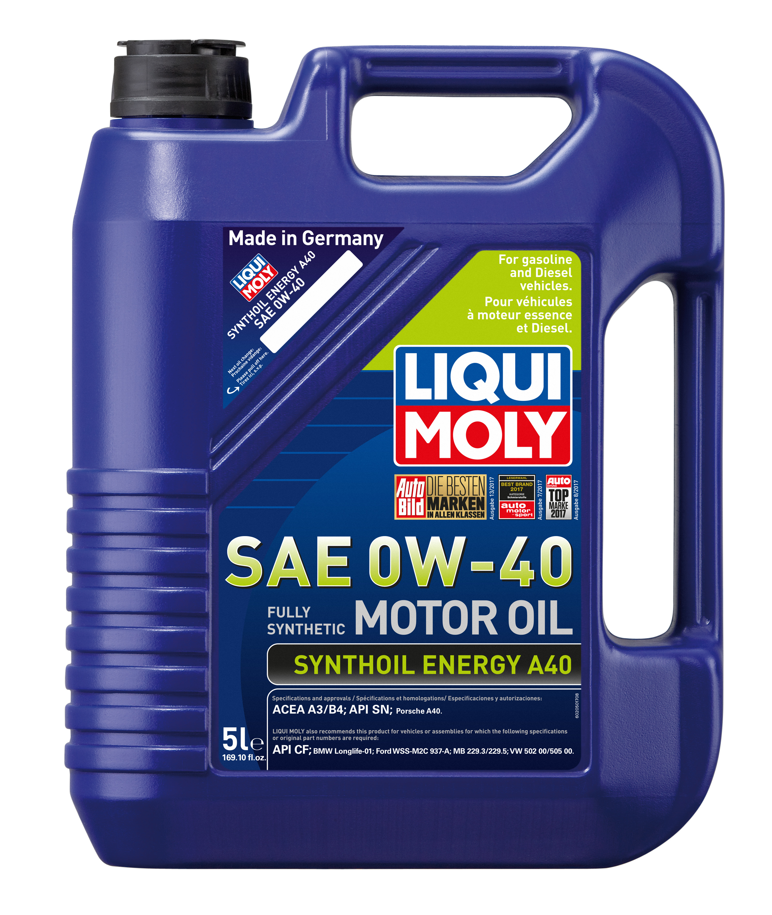 Liqui moly oil for porsche auto service world for What does sae mean on motor oil