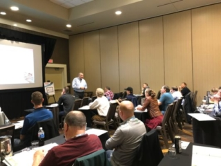 Bill Haas teaches class at ASA's Vision Hi-Tech Training and Expo