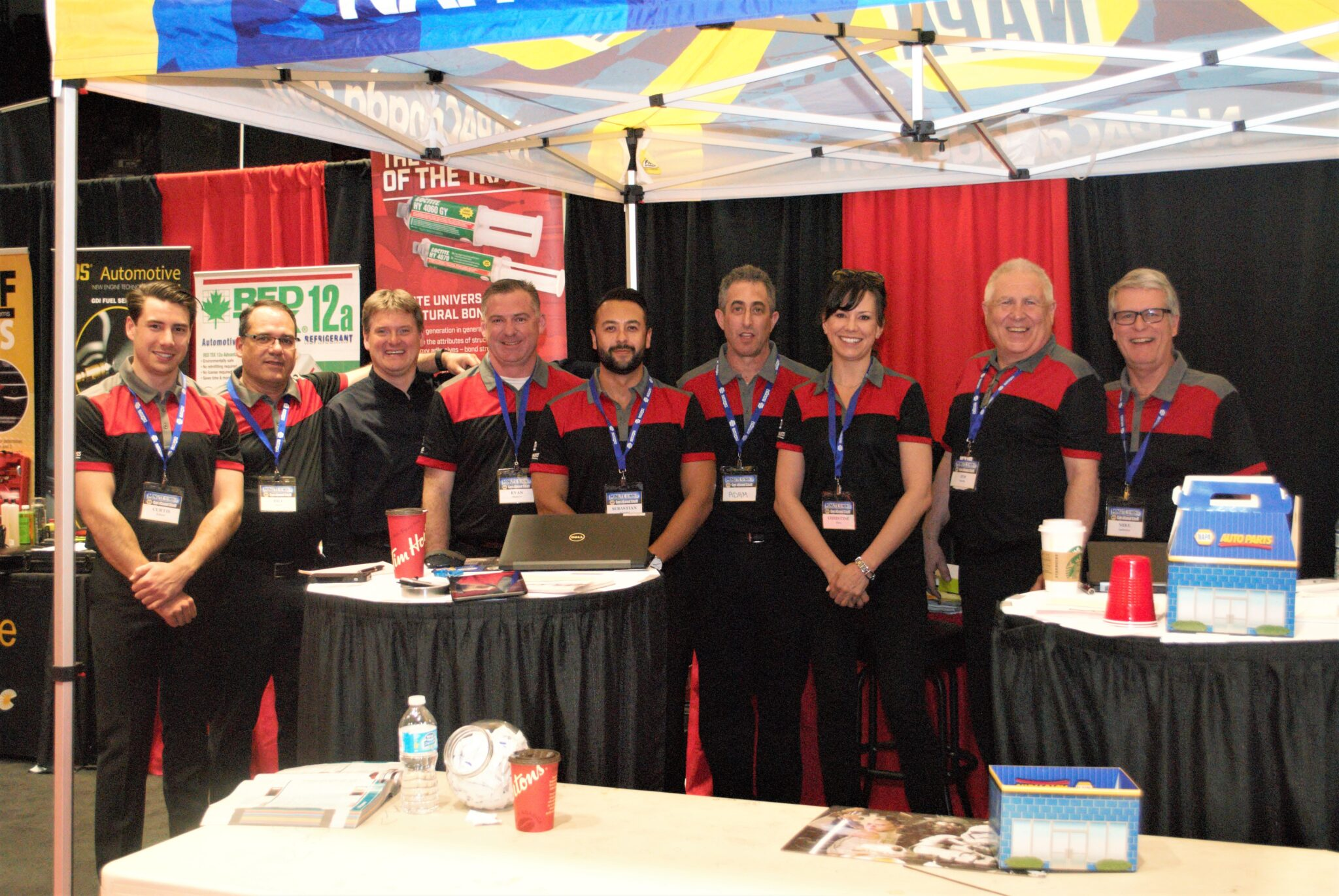 Ideal Supply Barrie show NAPA team