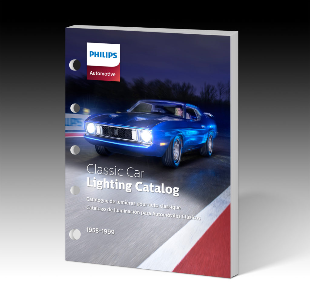 philips classic car lighting catalogue