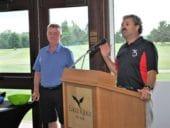 AIA Ontario Golf Joe Speaking