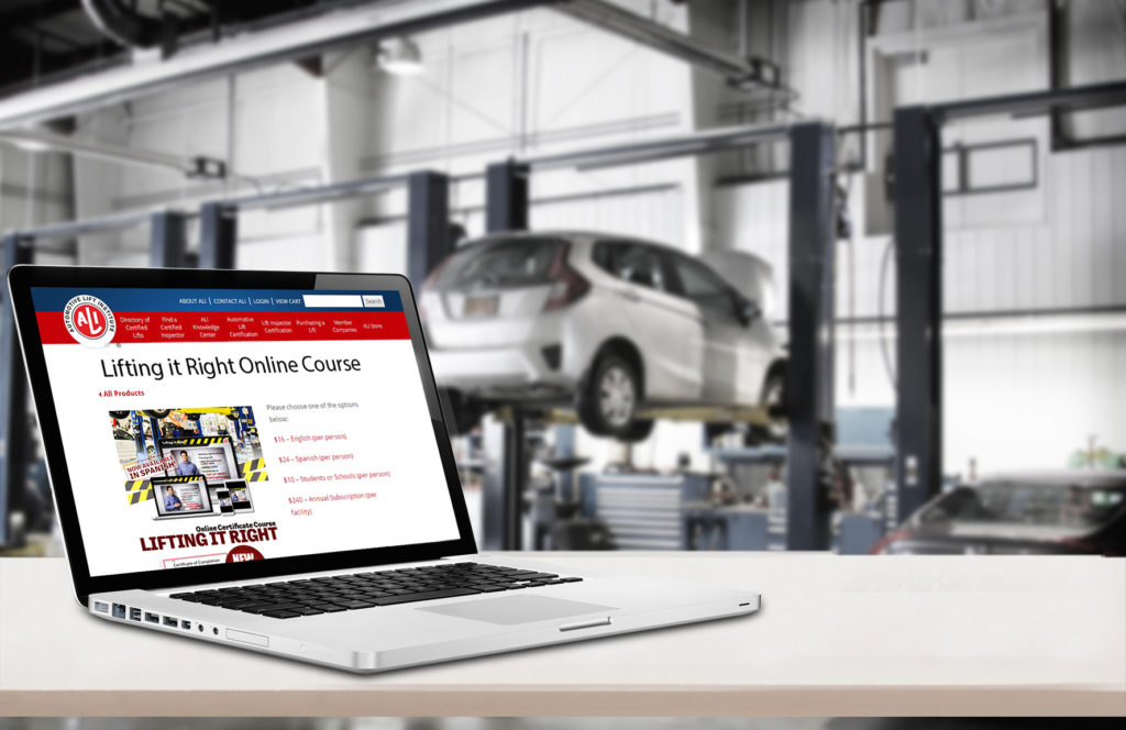 Ali Makes Lifting It Right Training Available Through Subscription Auto Service World