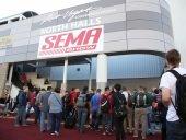 SEMA entrance